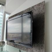 118平米唯美型液晶电视墙装修效果图大全