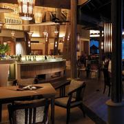 酒吧复古风格柜式装饰