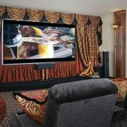 欧式奢华风格家庭影院设计