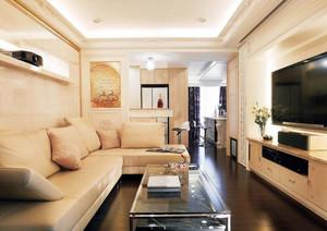 136平米清新风格家居室内装修设计效果图