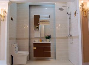 现代小户型家居卫生间瓷砖贴图欣赏
