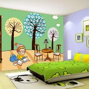 简约120平米家居卧室卡通壁纸图片大全