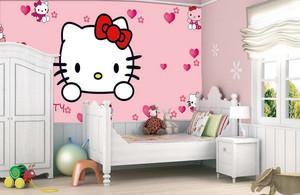 甜美卧室hello Kitty卡通壁纸图片大全