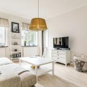 北欧风格小户型客厅电视柜装饰