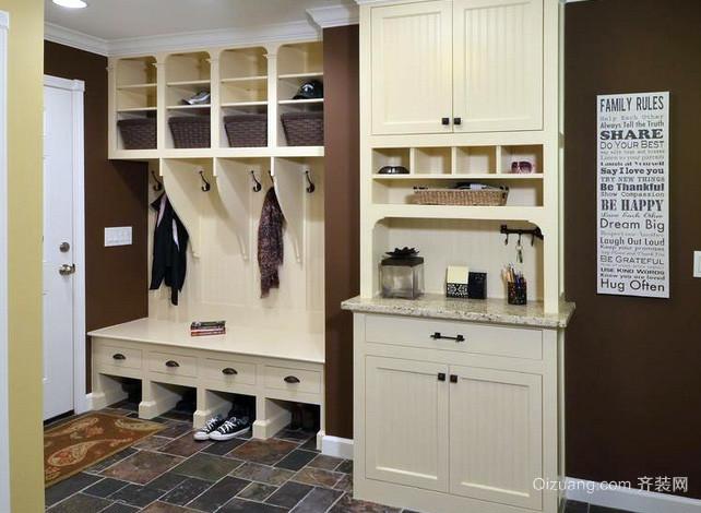 90平米房屋北欧风格清新鞋柜装修效果图