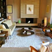小户型美式简约客厅装饰