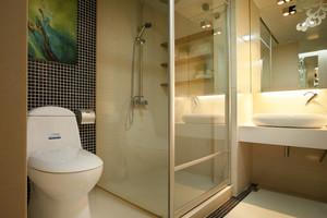 20平米自然风格家庭卫生间装修图片