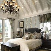 农村房屋美式简约客厅装饰
