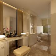 卫生间镜子效果图