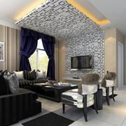 后现代风格客厅简约飘窗装饰