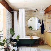 简约风格家庭卫生间镜饰装饰
