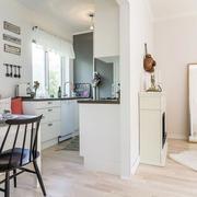 北欧小户型简约U型厨房装饰