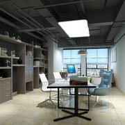 大气前卫大企业经理办公室装修设计图