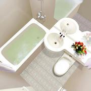 现代简约风格浴室洗漱池装饰