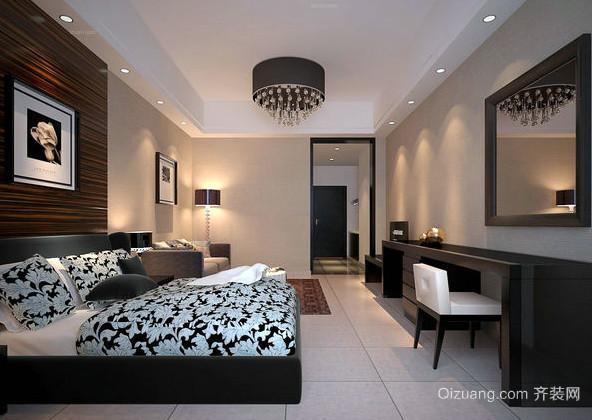 时尚风格138平米公寓装修效果图