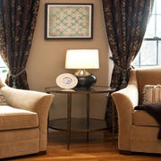 现代窗帘造型图