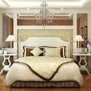 欧式简约风格卧室吊顶装饰