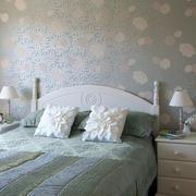 欧式简约风格卧室背景墙装饰
