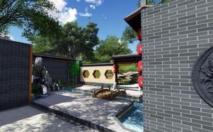 享受静谧生活:乡村庭院设计效果图