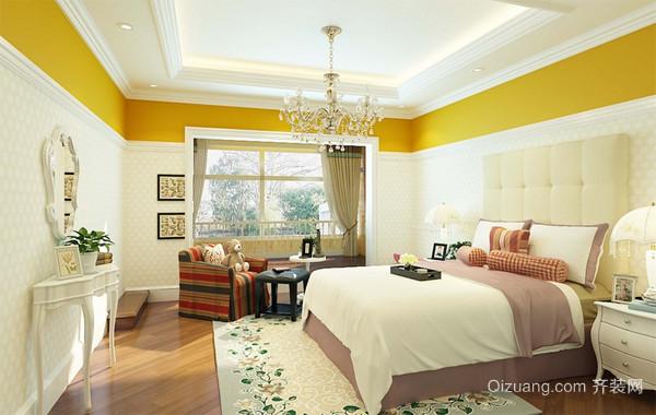 118平米深色调家庭房间设计效果图