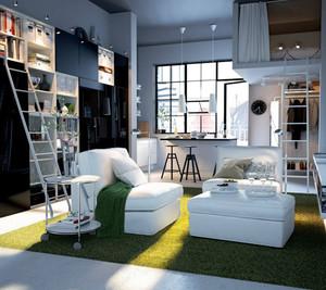 梦幻式公寓客厅装修效果图