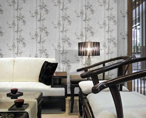 两室一厅现代简约风格沙发背景墙装修效果图