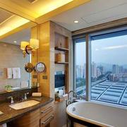 现代简约风格家庭卫生间装饰