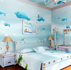 前卫简约80平米小卧室卡通壁纸图片大全