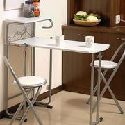 不锈钢简约折叠桌椅装饰