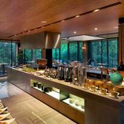 140平米欧式风格大型酒店厨房装修效果图