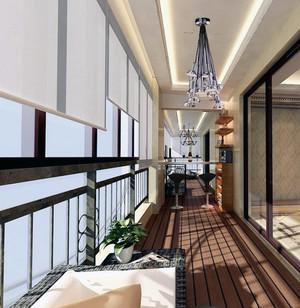 80平米小户型欧式精致的阳台装修效果图实例
