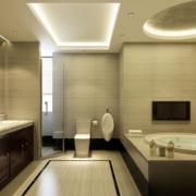 2016现代欧式小户型卫生间装修效果图欣赏