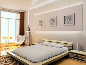 各式各样简约风格卧室床头柜装修效果图