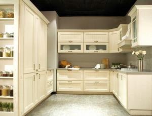 大型别墅40平米欧式整体厨房设计图片