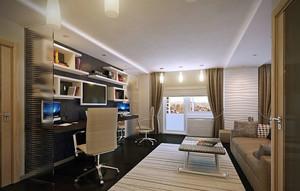 都市时尚100平米客厅室内设计效果图
