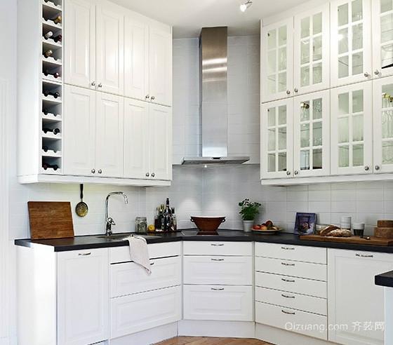 小户型欧式简约风格厨房装修效果图