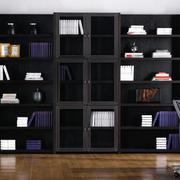 二居室实木书柜图片大全