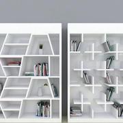二居室时尚风格书柜图片大全