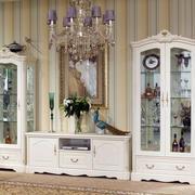 欧式风格别墅奢华整体式酒柜装修效果图