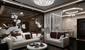 后现代70平米小户型客厅设计效果图大全