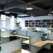 办公室简约风格吊顶装饰