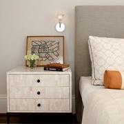 北欧风格清新床头柜效果图