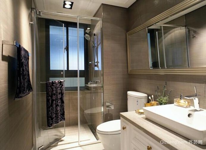 复式楼宜家风格洗手间装修效果图