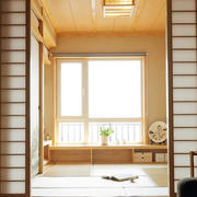 日式简约原木清新榻榻米装饰