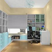 时尚小户型简约书房装修设计效果图