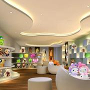 现代简约风格玩具店吊顶装饰