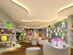 2016年大型各式各样小孩玩具店装修效果图