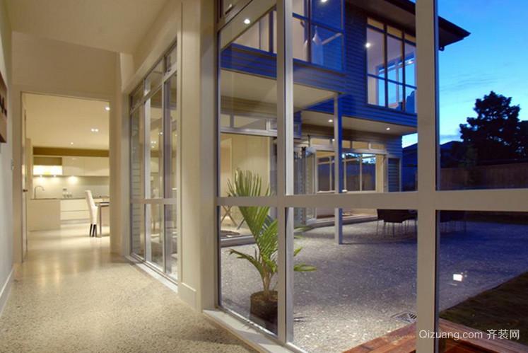 120平米都市风格落地隔音玻璃窗装修效果图
