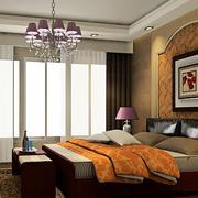 欧式简约卧室床头柜装饰