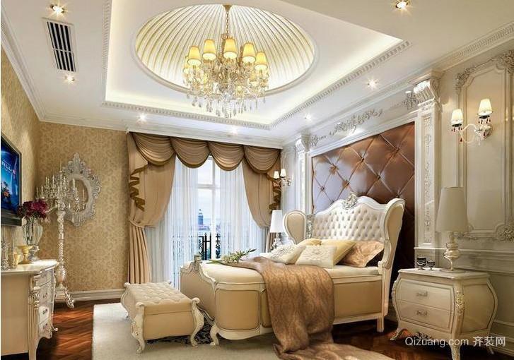 简欧303平米别墅卧室设计效果图大全